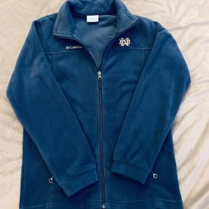 Columbia Norte Dame Navy Blue Jacket